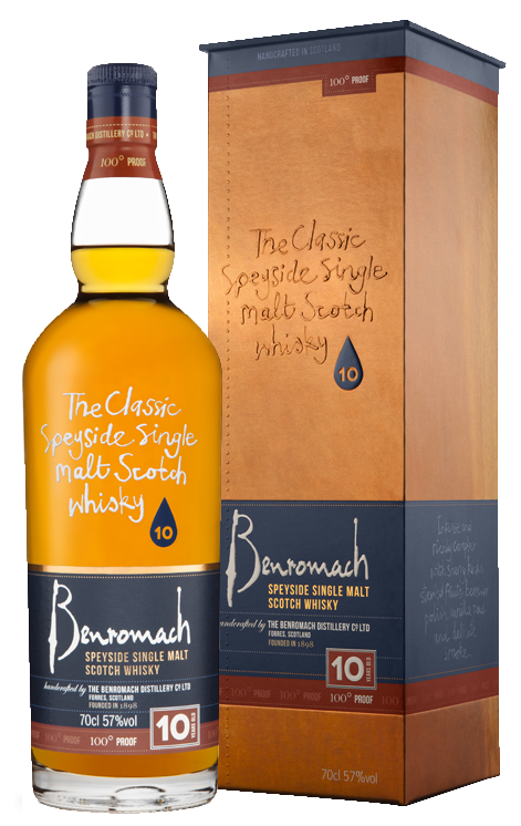 Benromach 10YO 100° Proof 57% 700ml bottle