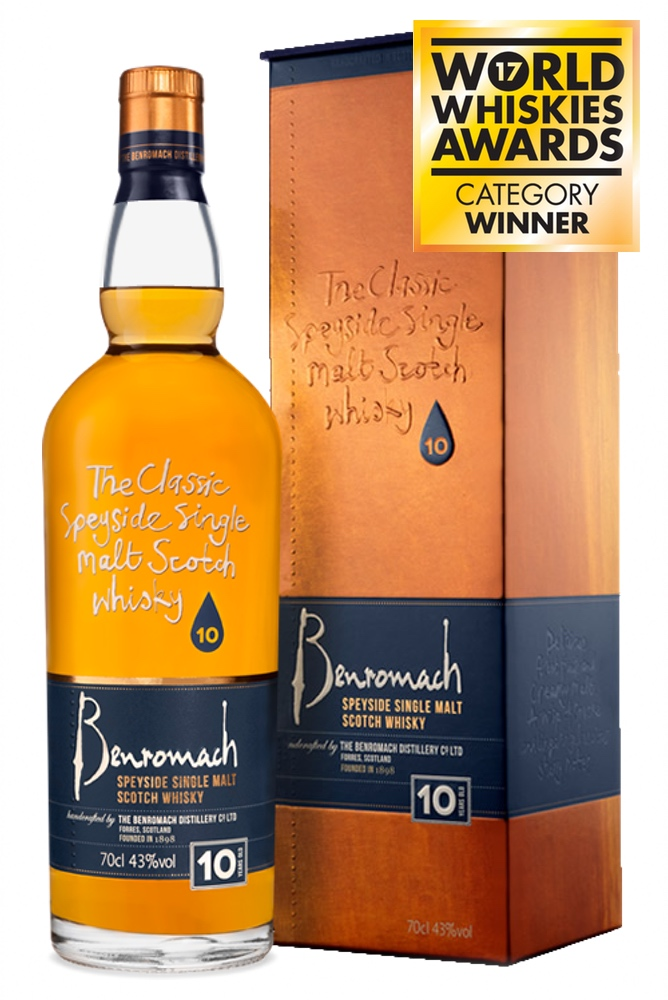 Benromach 10 Years Old 43% 700ml