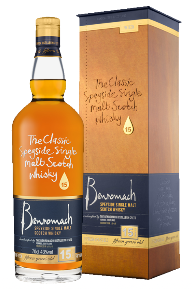 Benromach 15 Years Old 43% 700ml
