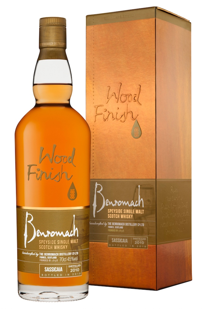 Benromach Sassicaia Wood Finish 2010 45% 700ml