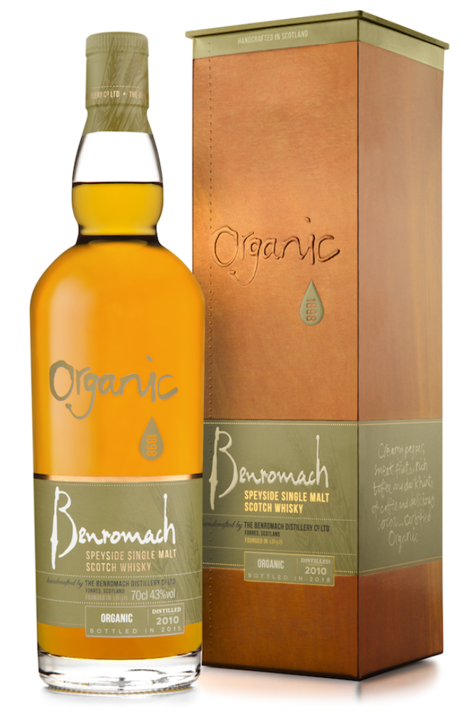 Benromach Organic 2010 43% 700ml bottle