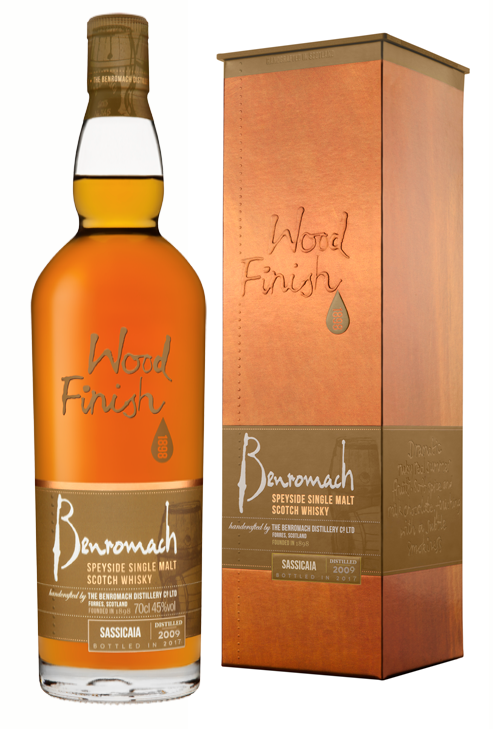 Benromach Sassicaia Wood Finish 2009 45% 700ml