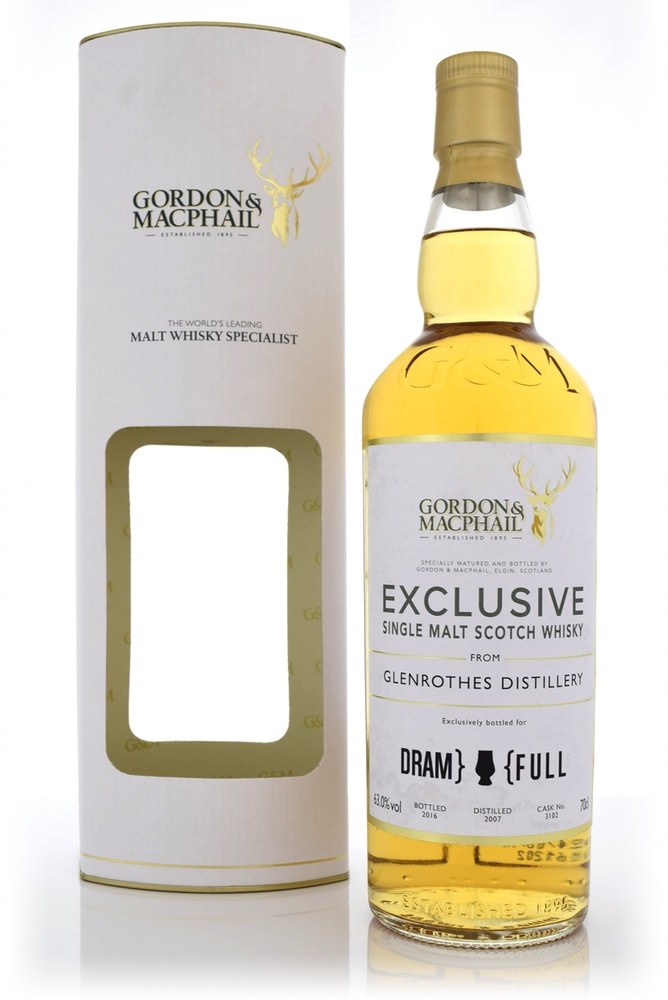 Dram Full G&M Glenrothes 2007